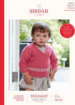 Sirdar Snuggly Baby Cashmere Merino DK Knitting Pattern Booklet - 5251 Sweaters & Tank Tops